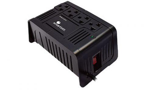 Regulador Smartbitt SBAVR1200 acondicionador de línea 4 salidas AC 600 W Negro