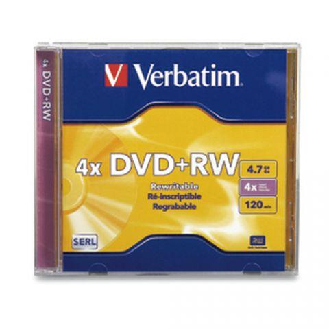 Disco DVD-R VERBATIM - DVD+RW, 1, 120 min 94520