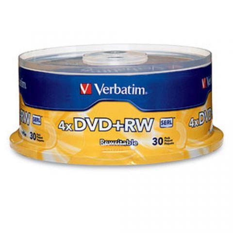 Disco DVD-R VERBATIM - DVD+RW, 30 94834