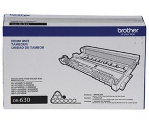 Tambor BROTHER DR630 - 12000 páginas, Laser, Negro, Tambor DR630