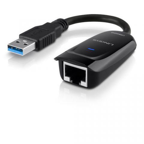 Adaptador USB red Linksys USB3GIG tarjeta de red Ethernet 1000 Mbit/s