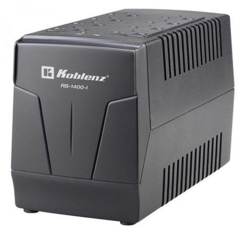 Regulador Koblenz RS-1400-I regulador de voltaje 8 salidas AC Negro