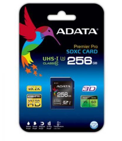 ADATA 256 GB SDXC memoria flash UHS-I Clase 3