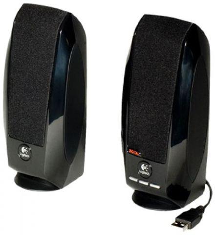 Bocina LOGITECH S150 - 1, 2 W, Negro, Alámbrico, USB 980-001004