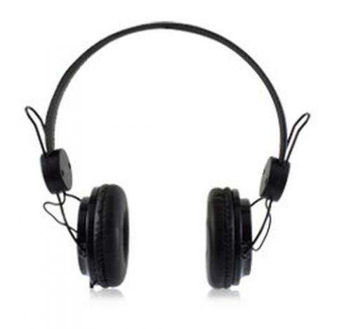 Audífono ACTECK AF-540 CRYSTAL - Diadema, Negro, Alámbrico, 1, 8 m LVAM-005