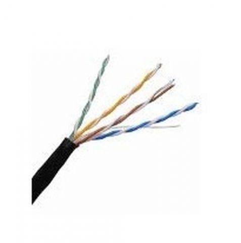 Accesorio Enson 100m UTP Cat5e cable de red Negro U/UTP (UTP)