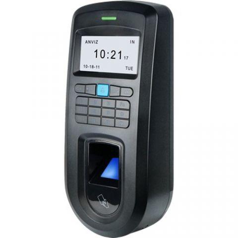 Sensor Óptico Anviz AN-VF30 - chip/tarjeta de acceso, biométrico, Contraseña, Si, Negro, 1000 usuario(s) AN-VF30