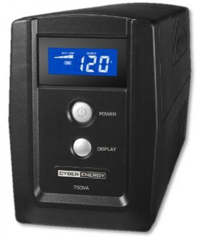 No Break y UPS CyberPower OM750ATLCD sistema de alimentación ininterrumpida (UPS) Línea interactiva 750 VA 6 salidas AC