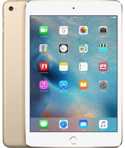 "iPad Apple iPad mini 4 4G LTE 128 GB 20.1 cm (7.9"") Wi-Fi 5 (802.11ac) iOS Oro"