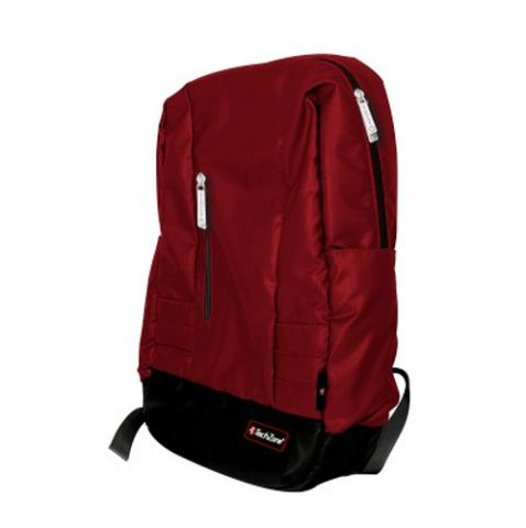 TechZone TZ16LBP22 mochila Negro, Rojo Nylon