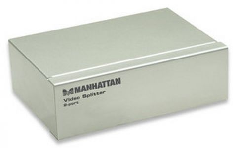 Accesorio Manhattan 2-Port Video Splitter VGA 2x VGA