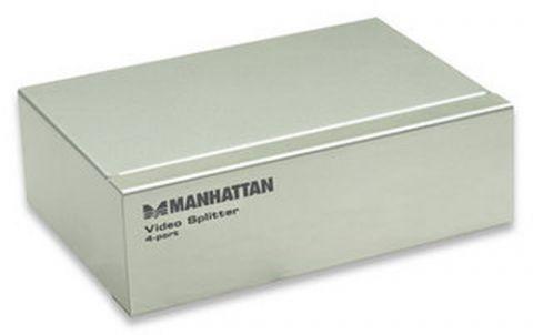 Accesorio Manhattan Video Splitter VGA 4x VGA