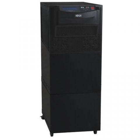 No Break y UPS Tripp Lite SU20K3/3XR5 UPS SmartOnline Trifásico de Doble Conversión 120V / 208V 20kVA 16kW, Autonomía Extendida, 5 baterías internas, Opciones de Tarjeta de Red, Torre, Serial DB9, Instalación Eléctrica Permanente