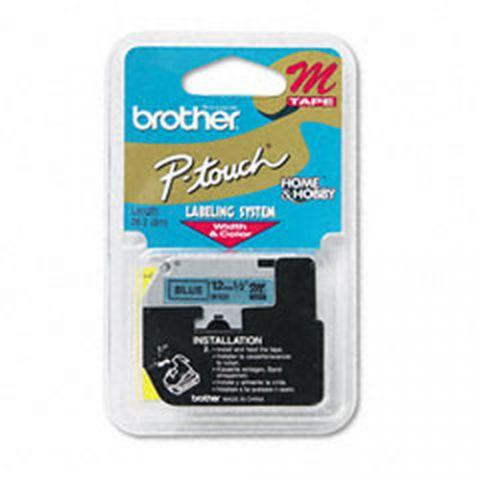 Cinta Brother M531 etiqueta de impresora Azul M