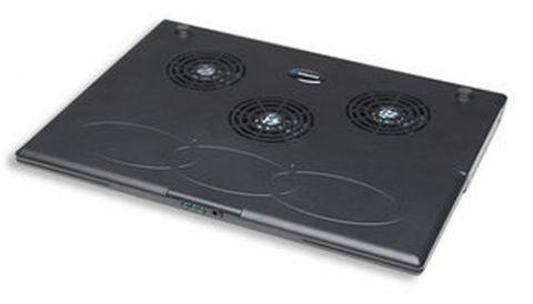 Manhattan 700467 enfriador para laptop Negro