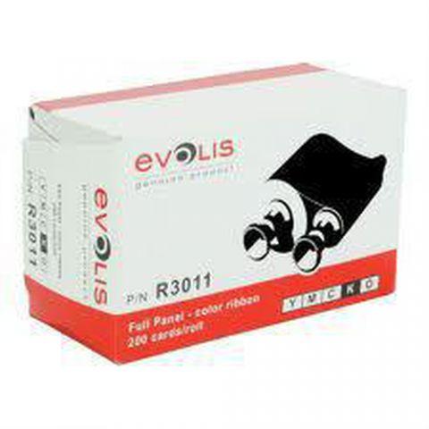 Cinta Evolis R3011 cinta para impresora 200 páginas