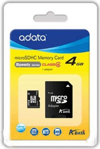 ADATA AUSDH4GCL4-RA1 memoria flash 4 GB MicroSDHC Clase 4