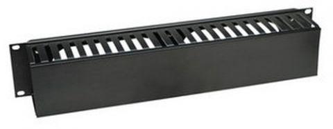 Organizador horizontal INTELLINET 168458 - Negro, 790 g 168458