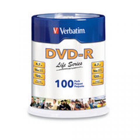 Disco DVD-R VERBATIM 97177 - DVD+R, 4.7 GB, 100, 16x 97177