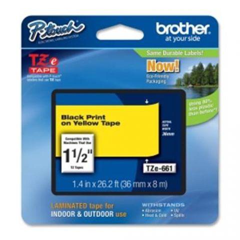 Cinta Brother TZe-661 cinta para impresora de etiquetas TZ