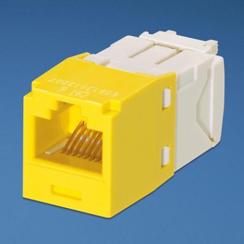 Accesorio Panduit UTP RJ-45 MiniJack kat6, yellow Amarillo