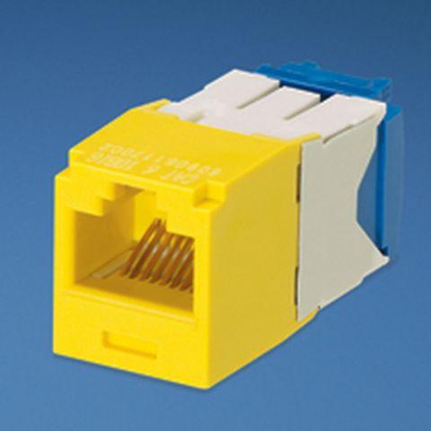 Accesorio Panduit UTP RJ45 TG-MiniJack Cat6a Yellow Amarillo