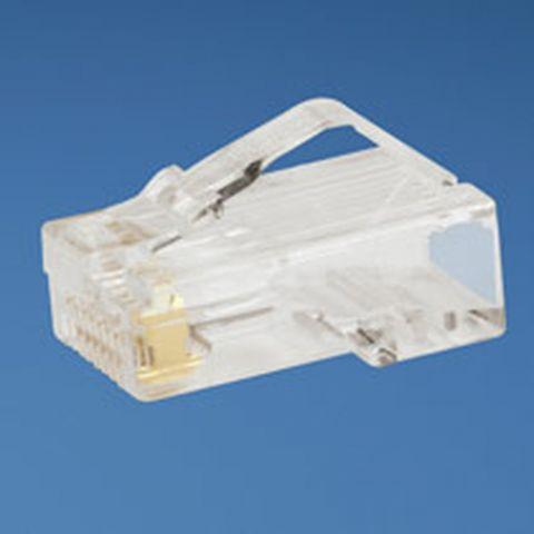 Panduit 8-position, 8-wire modular plug 50pc conector