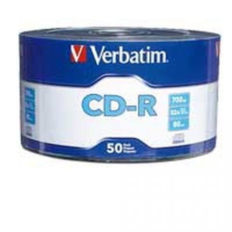 Disco CD-R VERBATIM 97488 - CD-R, 700 MB, 50, 52x, 80 min 97488