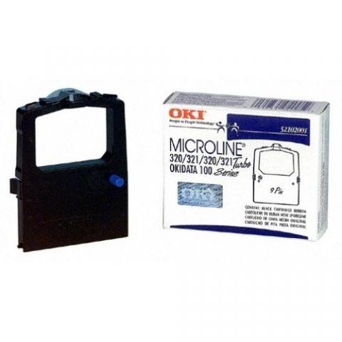 Cinta OKI Black Ribbon Cartridge cinta para impresora