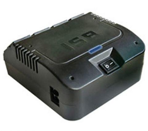 Regulador Industrias Sola Basic Slimvolt regulador de voltaje 4 salidas AC 100-127 V Negro